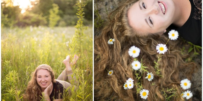 Abby's Senior Portrait Session // Northville, MI Portrait Photographer