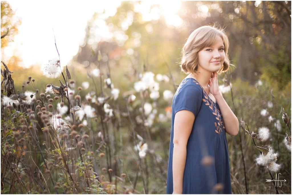 Aubrey Grace Photography - High school senior session  - Portrait Photographer