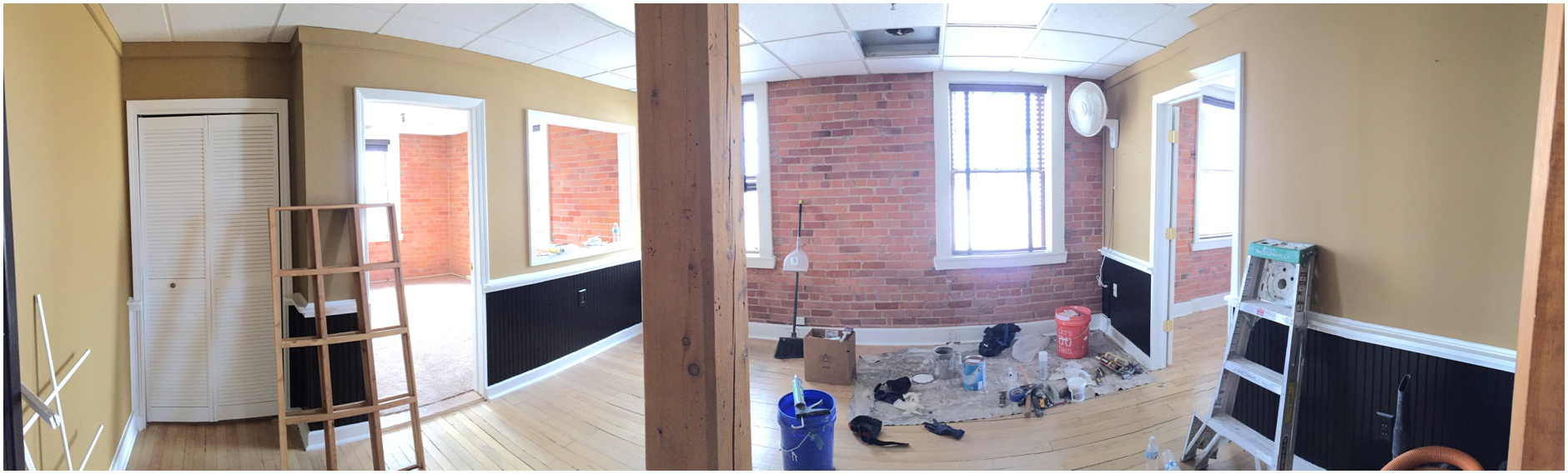Before and After Renovation of Plymouth Photo Studio, Aubrey Grace Photo