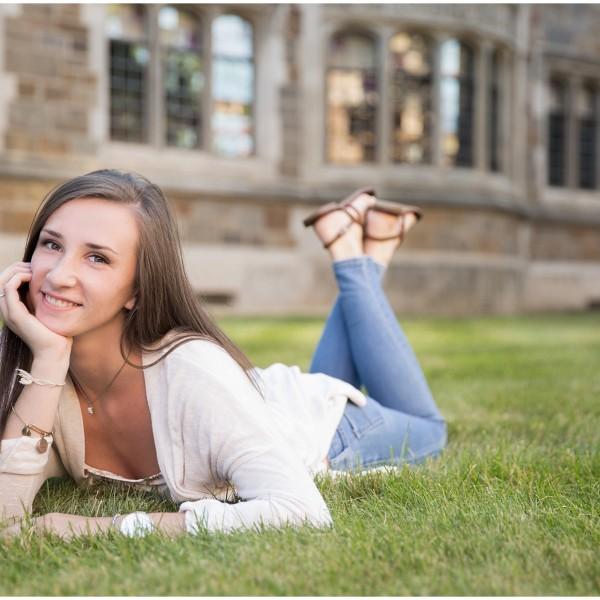 Sarah // High School Senior // Portrait Photographer Ann Arbor, MI