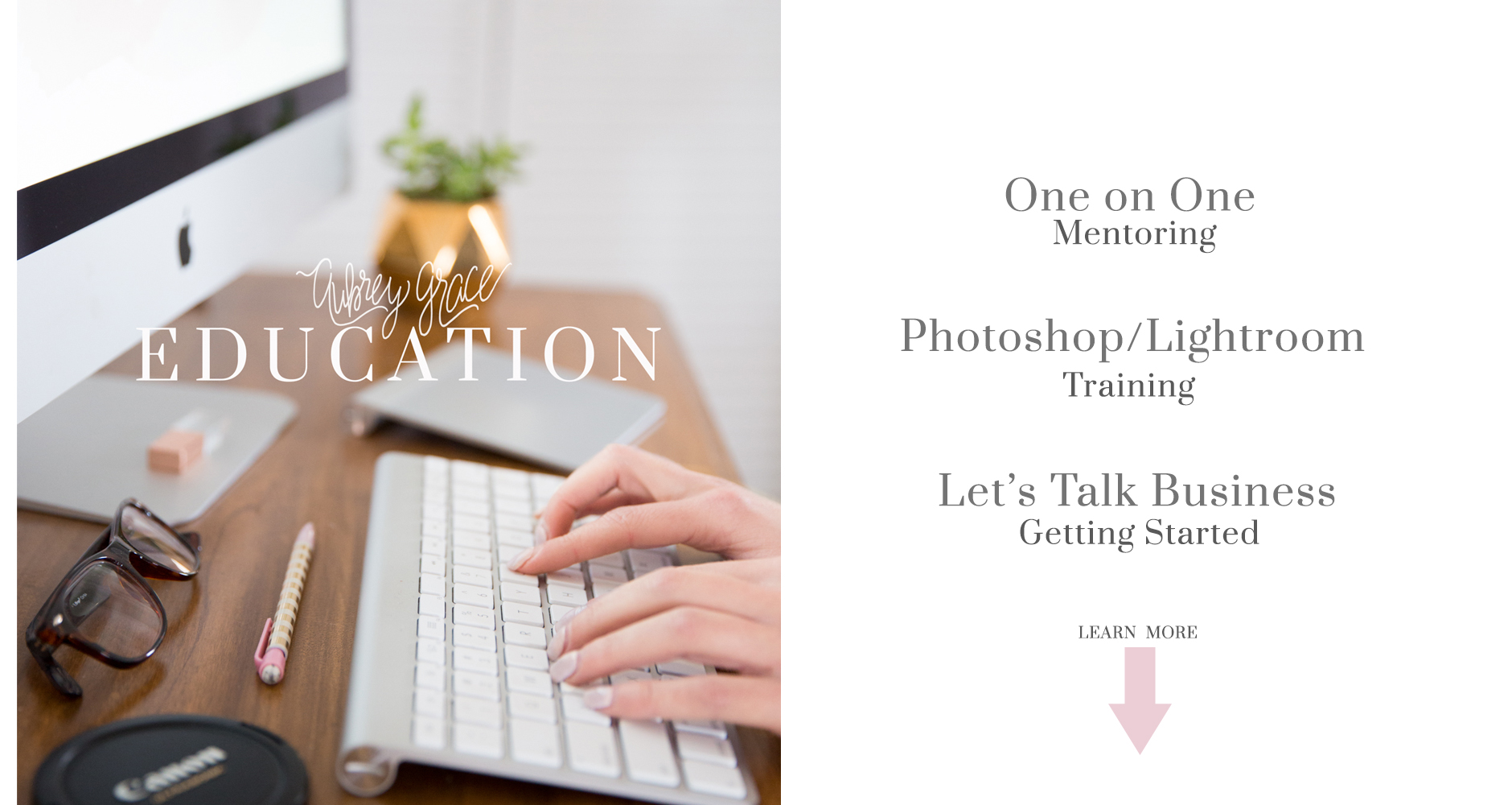 Education for photographers and boss ladies