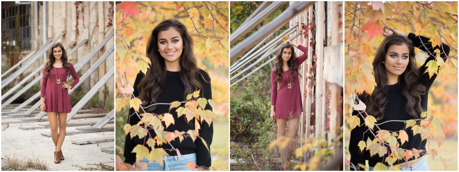 Fall senior session by Aubrey Grace Photo